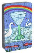 Tarot Of The Younger Self Ace Of Cups Portable Battery Charger