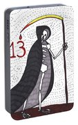 Tarot Of The Younger Self Death Portable Battery Charger