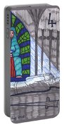 Tarot Of The Younger Self Four Of Swords Portable Battery Charger