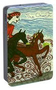 Tarot Of The Younger Self The Chariot Portable Battery Charger