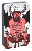 Tarot Of The Younger Self The Devil Portable Battery Charger