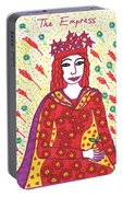 Tarot Of The Younger Self The Empress Portable Battery Charger