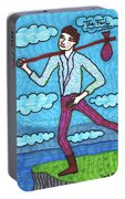 Tarot Of The Younger Self The Fool Portable Battery Charger