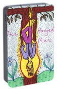 Tarot Of The Younger Self The Hanged Man Portable Battery Charger