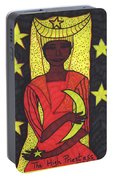 Tarot Of The Younger Self The High Priestess Portable Battery Charger