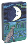 Tarot Of The Younger Self The Moon Portable Battery Charger