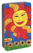 Tarot Of The Younger Self The Sun Portable Battery Charger