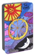 Tarot Of The Younger Self The Wheel Portable Battery Charger