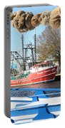 Tarpon Springs Shrimp Boat Portable Battery Charger