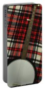 Tartan Banjo Portable Battery Charger