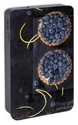 Tartlets With Blueberries Portable Battery Charger