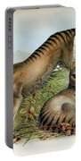 Tasmanian Tiger, Extinct Species Portable Battery Charger