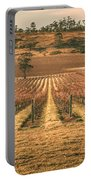 Tasmanian Winery In Winter Portable Battery Charger