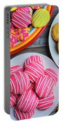 Tasty Assortment Of Cookies Portable Battery Charger