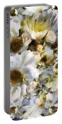 Tattered Bouquet Portable Battery Charger