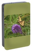 Tattered Tiger Swallowtail Butterfly          August         Indiana Portable Battery Charger