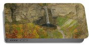 Taughannock Falls Panorama Portable Battery Charger