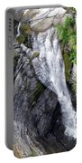 Taughannock Falls Upper Rim Trail Portable Battery Charger by Christina Rollo