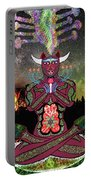 Taurus -psychedelic Zodiac Portable Battery Charger