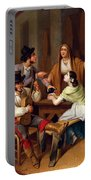 Tavern Scene Portable Battery Charger