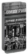 Taverne St. Germain, Paris Portable Battery Charger