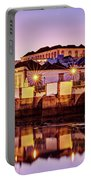 Tavira Reflections - Portugal Portable Battery Charger by Barry O Carroll