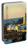 Tavira Tower And Post Office From West Tower Cadiz Spain Portable Battery Charger