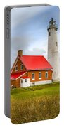 Tawas Point Lighthouse - Lower Peninsula, Mi  Portable Battery Charger