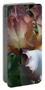 Tawny Iris Photograph Portable Battery Charger