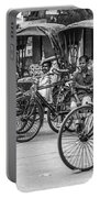 Taxi Rank Portable Battery Charger by Chris Cousins