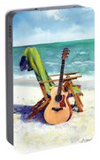 Taylor At The Beach Portable Battery Charger