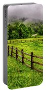 Tea Creek Meadow And Buttercups Portable Battery Charger