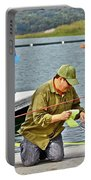 Teach Him To Fish Portable Battery Charger