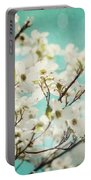 Teal Dogwood No. 1 Portable Battery Charger