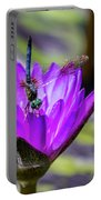 Teal Dragonfly Portable Battery Charger
