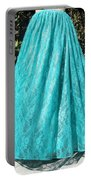 Teal Green Lace Skirt. Ameynra By Sofia Portable Battery Charger