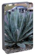 Teal-green Tequila Plant. Exotic Portable Battery Charger