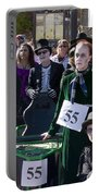 Team 55 At Emma Crawford Coffin Races In Manitou Springs Colorado Portable Battery Charger