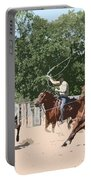 Team Roping Portable Battery Charger