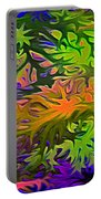Technicolor Leaves Portable Battery Charger
