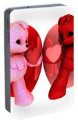 Teddy Bearz Valentine Portable Battery Charger
