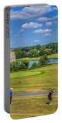 Teeing Off At Leeds Castle Portable Battery Charger