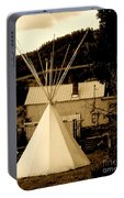 Teepee In Montana Portable Battery Charger