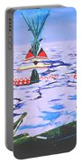 Teepees On Ice Portable Battery Charger