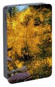 Telluride Spirituality - Colorado - Autumn Aspens Portable Battery Charger
