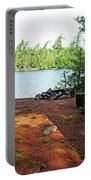 Temagami Island Campsite I Portable Battery Charger