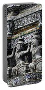 Temple Detail In Bangkok Thialand Portable Battery Charger