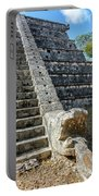 Temple In Chichen Itza Portable Battery Charger