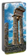 Temple Of Apollon Portable Battery Charger