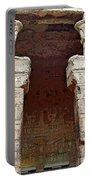 Temple Of Edfu I Portable Battery Charger